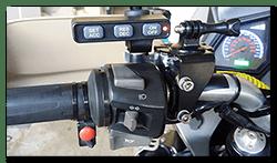 Aprilia Caponord ETV1000 & Rally-Raid MCCruise control