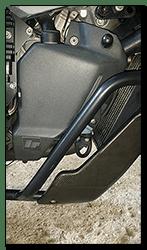 Aprilia Caponord ETV1000 Rally-Raid coolant expansion tank