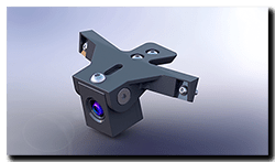 Aprilia Caponord ETV1000 Rally-Raid 3D printed INNOVV K1 camera mount