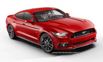 Un Mustang de 4 puertas podría ser una idea no tan descabellada