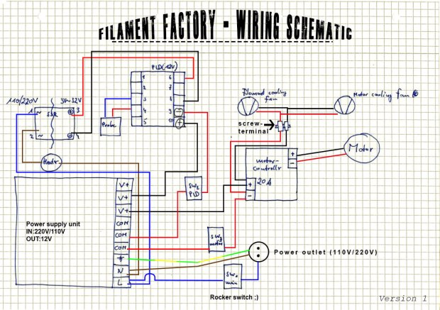 Filament Factory Wiring Schematic