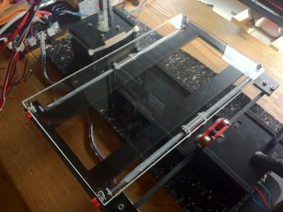 Acrylic build platform TwoUp
