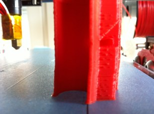 Shifted layers - too much force from filament
