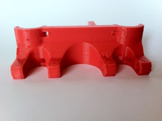 Carriage center printed. Better perimeters.