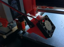 DDeGonge888's TwoUp Extruder with fan and fan duct