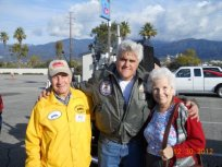 Jean and Julius Schnell with Jay Leno