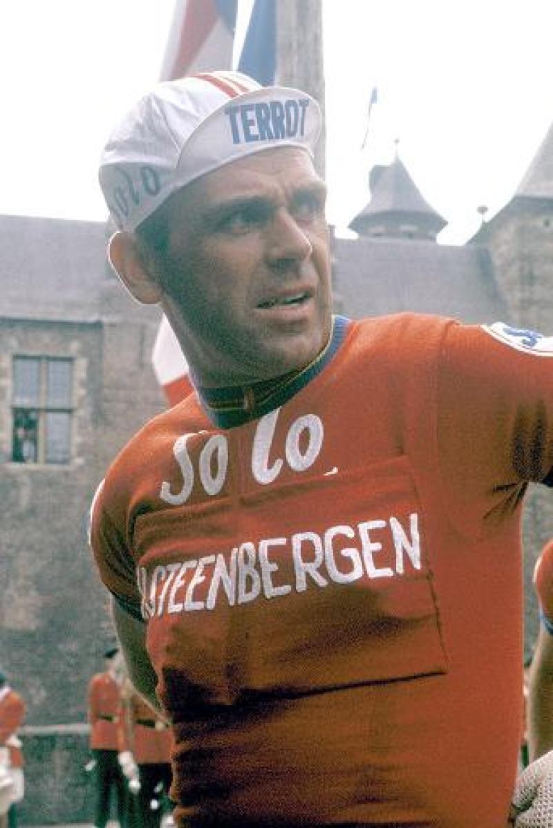 RIK VAN STEENBERGEN. Rik van Steenbergen in de Ronde van Belgi'.