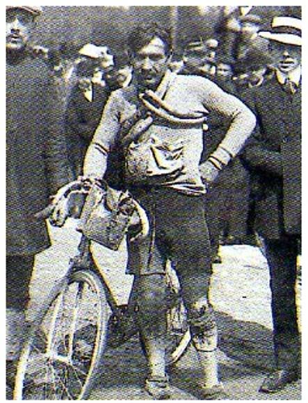 1910_Tour._1_etapa_Charles_Crupelandt_ganador_de_la_etapa