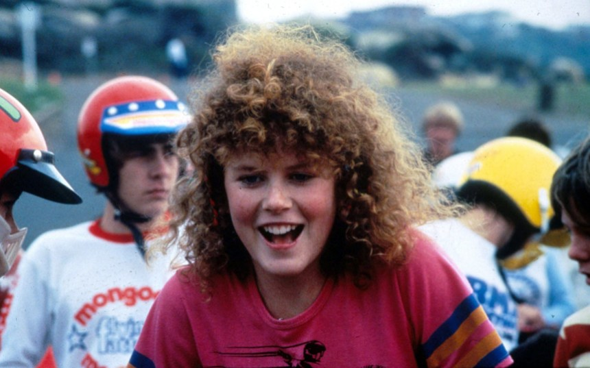 """Nicole Kidman, Australia - 1980s...Editorial Use Only. Consent Required for Commercial Use and Book Publications Mandatory Credit: Photo by News Ltd/Newspix/REX (835805b) Actor Nicole Kidman in the film """"BMX Bandits"""". Nicole Kidman, Australia - 1980s"""