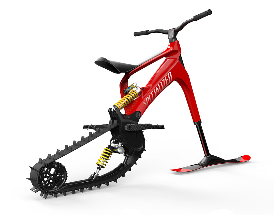 CapoVelo.com | SPECIALIZED Concept Snow Bike
