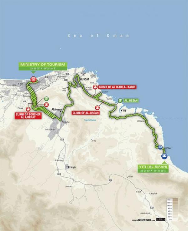 2016_tour_of_oman_stage_5_map_670
