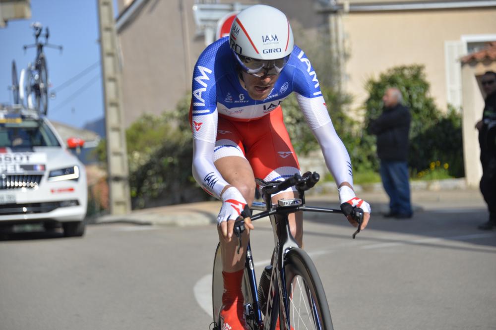Criterium International 2016 - 26/03/2016 - Etape 2 : CLM individuel - Porto-Vecchio / Porto-Vecchio (7 Km) - Jérôme Coppel, IAM Cycling