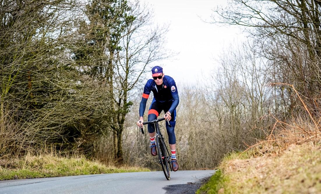 Picture by Simon Wilkinson/SWpix.com - 11/03/2016 - Cycling - Tour de Yorkshire - Maserati and David Millar - Scarborough, Yorkshire, England.