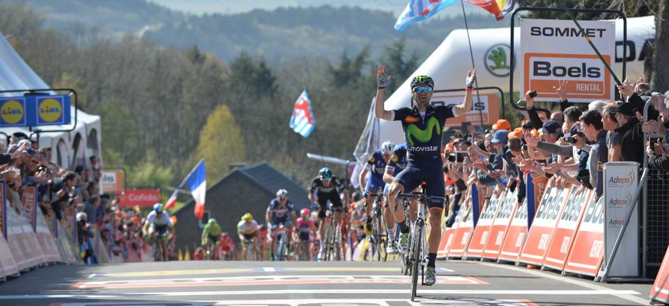 La Flèche Wallonne - 20/04/2016 - Mur de Huy - Belgique - VALVERDE Alejandro, Movistar Team, vainqueur