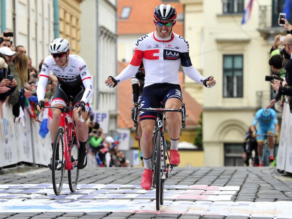 Tour of Croatia 2016 - a tappa Terme Sveti Martin - Zagreb 177,3 km - 24/04/2016 - Holst Sondre Enger (IAM Cycling) - foto Dario Belingheri/BettiniPhoto©2016