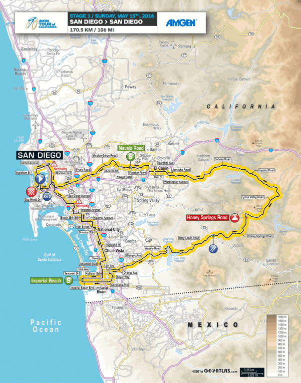 Amgen-Tour-of-California-2016-Stage-1-route-map