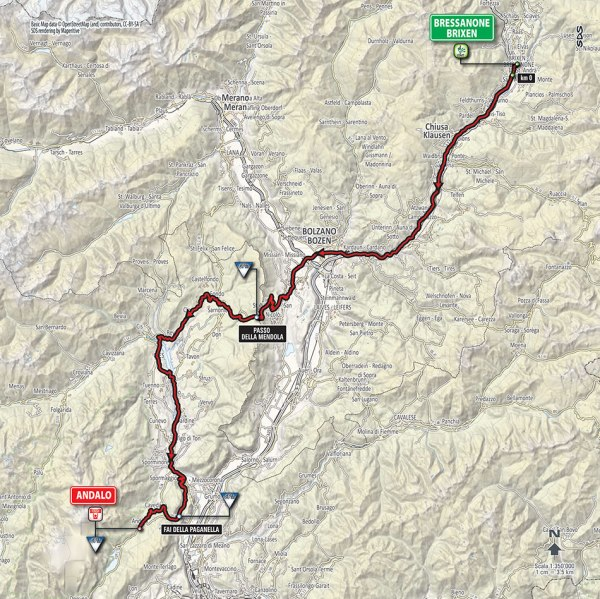 Giro-dItalia-2016-Stage-16-BressanoneBrixen-to-Andalo-route-map