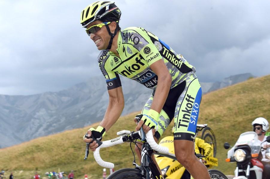Tour de France 2015 - 102a Edizione - 17a tappa Digne les Bains - Pra Loup 161 km - 22/07/2015 - Alberto Contador (Tinkoff - Saxo) - foto Graham Watson/BettiniPhoto©2015