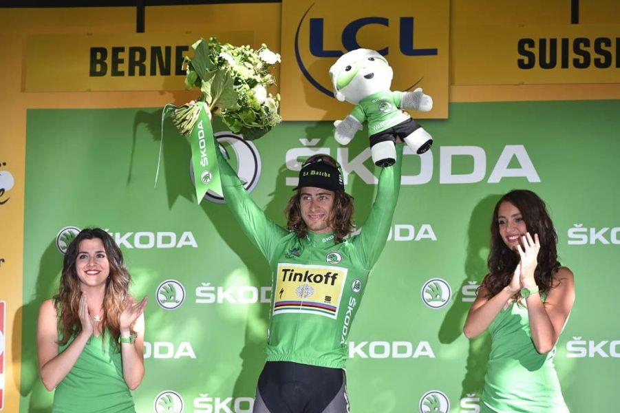 Tour de France 2016 - 18/07/2016 - Etape 16 - Moirans-en-Montagne/ Berne (209 km) - Peter SAGAN (TINKOFF), maillot vert