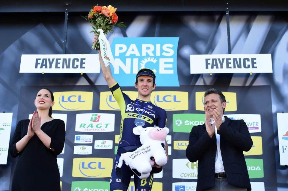 Paris-Nice 2017 - 10/03/2017 - Etape 6 - Aubagne / Fayence (193,5km) - Simon YATES (ORICA - SCOTT) - Vainqueur du jour