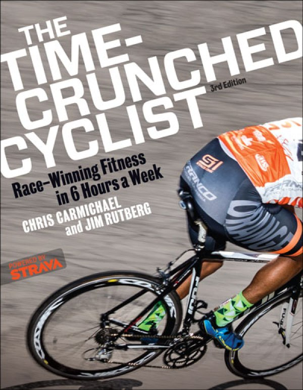 The Time-Crunched Cyclist Chris Carmichael