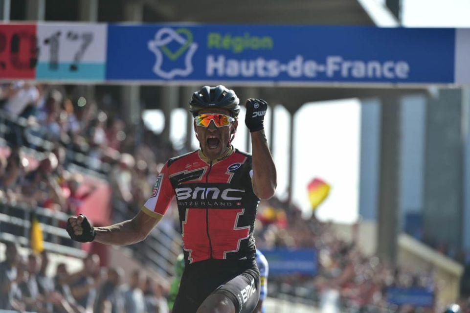 Paris-Roubaix 2017 - 09/04/2017 - Greg VAN AVERMAET, BMC RACING TEAM remporte Paris - Roubaix