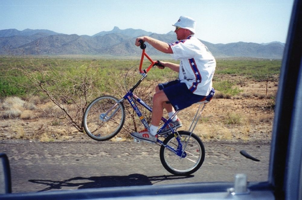 Capovelo Com Cyclist Aiming To Beat His Own Record For Longest