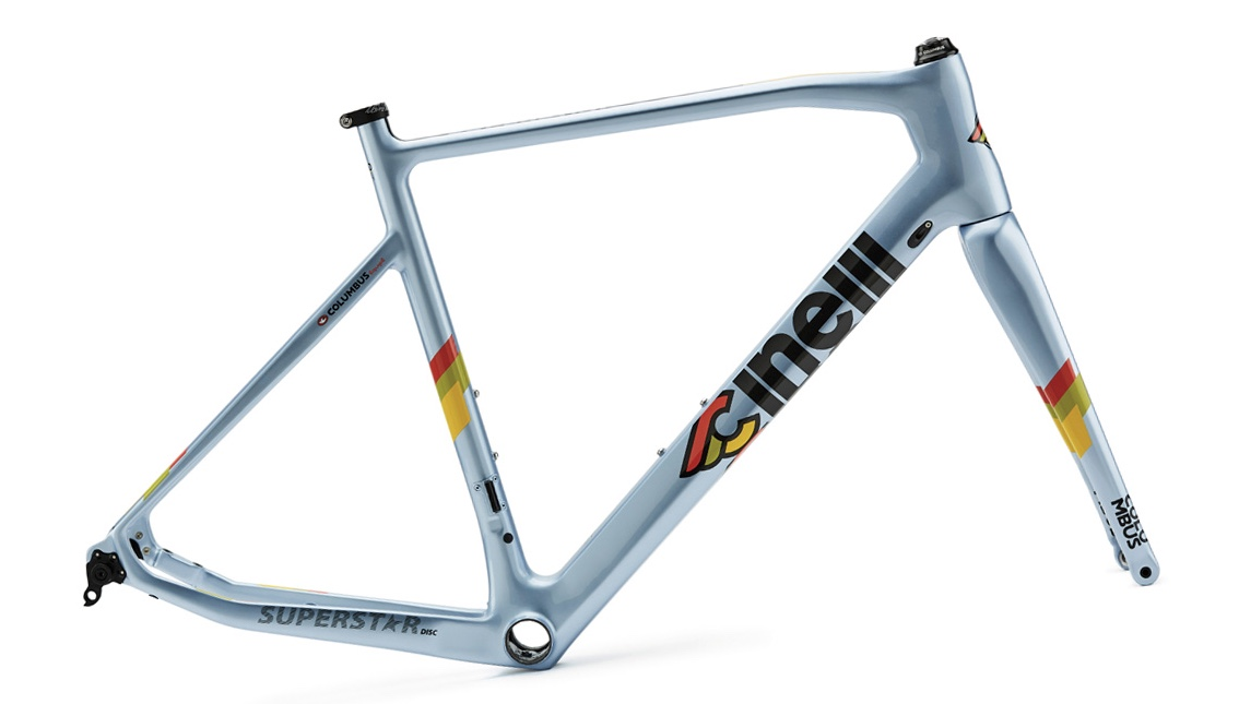 CapoVelo com | Cinelli Dazzles with Superstar and Veltrix Carbon