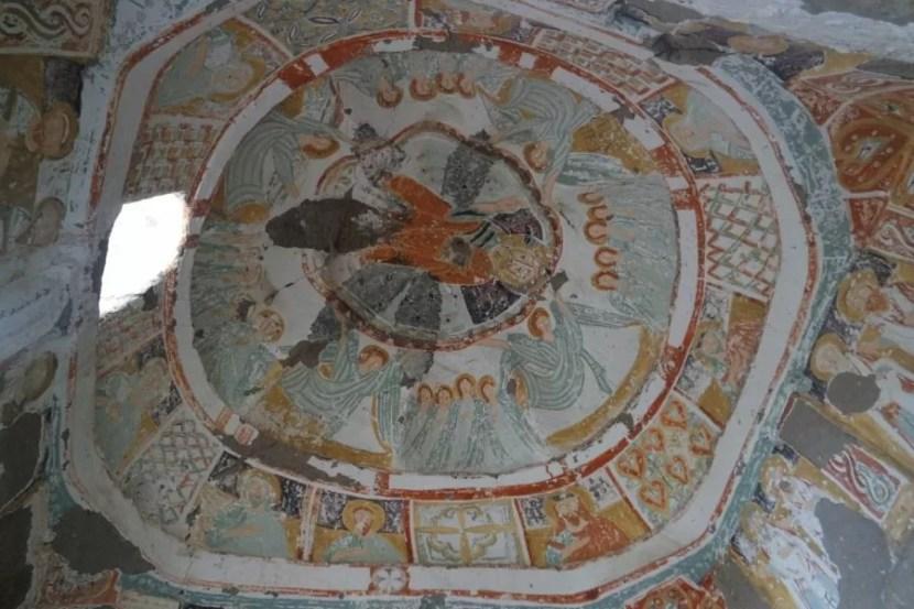 Церковь Агачалты - купол