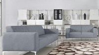 Royce Modern Sofa and Loveseat Set in grey - Sofa Sets ...