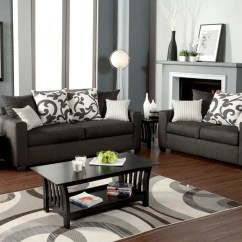 Dark Gray Sofa Living Room Ideas Sleep Bed Hermosa 43 Loveseat Set Sets