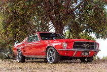 Glen's 67 Fastback looking sharp!