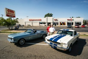 1965 mustang, 1966 mustang, Steve and Ron Wesolowski