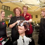 Students Learn How to Create a Permanent Wave