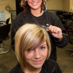Students Have Fun with Hair Extensions