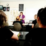 Capri College Instructor Teaching in the Classroom