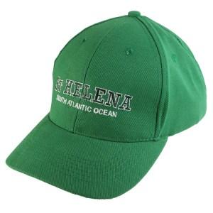 St Helena Island baseball cap emerald green
