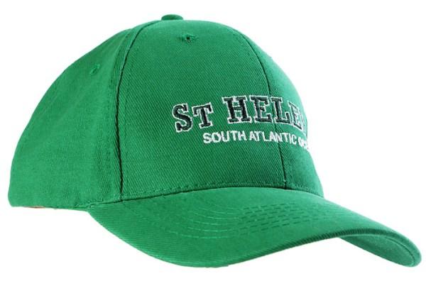 St Helena baseball cap emerald green