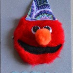 How to Make an Elmo Party Invitation, headband and Fedora:  a Tutorial