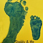 Daddy & Me Father's Day Footprints