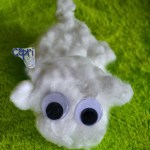 Pulled Cotton Sheep Craft