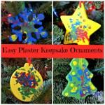 Easy Keepsake Ornaments Children Can make