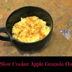 Slow cooker Apple Granola Oatmeal