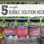 5 Bubble Recipes-Special Guest Post