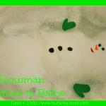 Snowman Invitation to Bathe