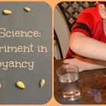Nutty Science–A Lesson in Buoyancy