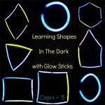 Learning Shapes in the Dark with Glow Sticks