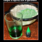 Simple Evaporation Experiment