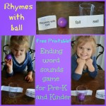 Rhymes with Ball Ending Word Sounds Game