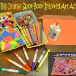 The Big Orange Splot  Art Activity